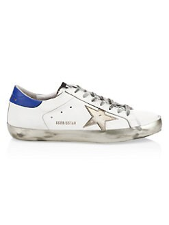 07d4faa0d9 Golden Goose Deluxe Brand. Men's Gold Sparkle Superstar Sneakers