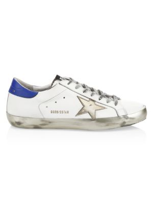 Gold Sparkle Superstar Sneakers by Golden Goose Deluxe Brand