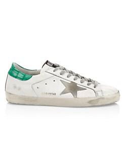 7cffeaacf0e4 Golden Goose Deluxe Brand. Men s Superstar Leather Low-Top Sneakers