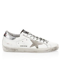 4bfc0d724d62 Men s Superstar Leather Sneakers WHITE YELLOW. QUICK VIEW. Product image
