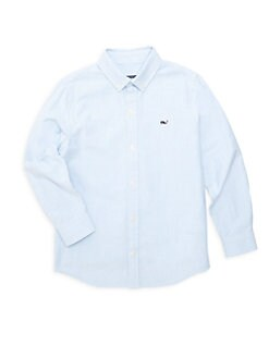 b11789c34 Little Boy's & Boy's Striped Oxford Shirt BLUE. QUICK VIEW. Product image.  QUICK VIEW. Vineyard Vines