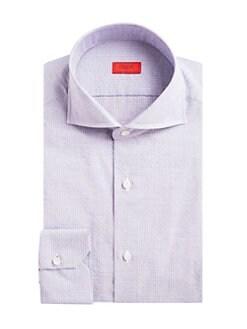 7df84f06ec5c3 Isaia. Navetta Pinstripe Button-Down Shirt