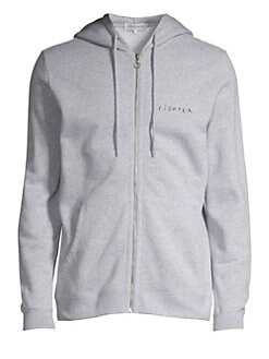 9dfbbdf3e Maison Labiche. Cotton Fighter Hoodie
