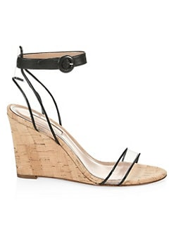 c3b52c946137 QUICK VIEW. Aquazzura. Minimalist Cork Wedge Heels