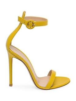 cf814a166ae6 Gianvito Rossi. D Orsay Leather Stiletto Sandals