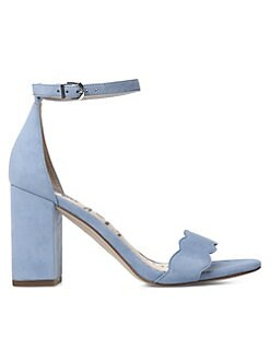 0e351cf04fe Botanical Garden Odila Suede Ankle Sandals BLUE. QUICK VIEW. Product image