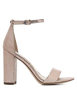 c135f6f6e10 Sam Edelman - Yaro Leather Ankle-Strap Sandals - saks.com