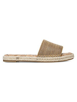 623ff470360a Sam Edelman - Gigi Rose Gold Boa Snake Print Leather Thong Sandals ...