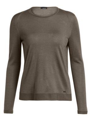 Akris Cashmere Silk Knit Sweater