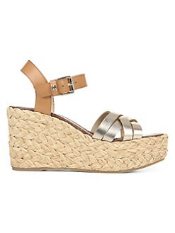 afb95bf32 QUICK VIEW. Sam Edelman. Darline Leather Platform Wedge Espadrilles