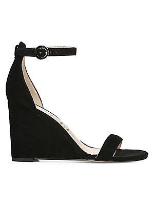 27d0e3735f6 Sam Edelman - Neesa Suede Ankle-Strap Wedge Heels - saks.com