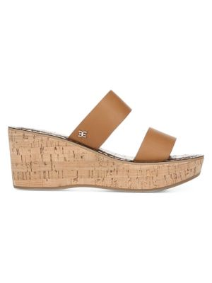 Sam Edelman Sandals Rydell Leather Wedge Sandals