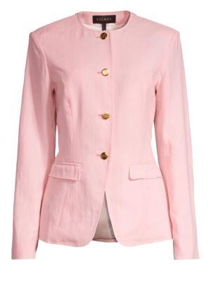 73db7084bbc Isabel Marant Etoile - Manae Floral Quilted Linen Jacket - saks.com