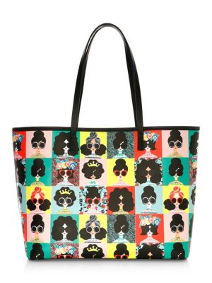 Alice And Olivia Veronica Photoshoot Print Tote
