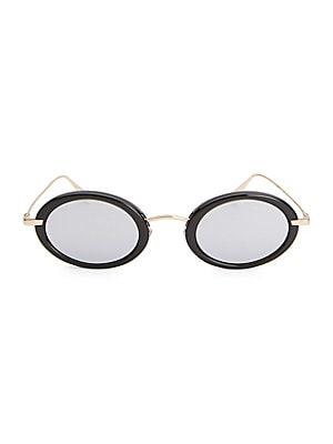 a2e63ddb9c5 Saint Laurent - SL 98 California 53MM Oversized Oval Sunglasses ...