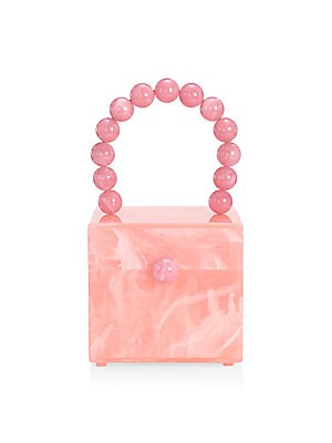 Eos Acrylic Box Bag by Cult Gaia