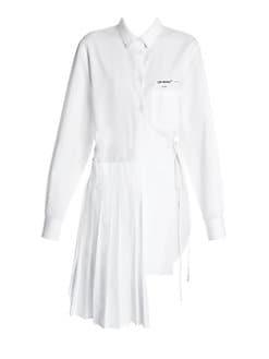 231f57d9f99a7 Off-White. Wrapped Panel Asymmetric Shirt