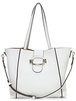 e204d90f6d9 QUICK VIEW. Tod's. Ring Leather Shopping Tote Bag