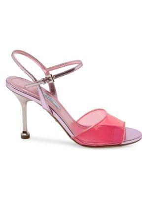 Prada Sandals Plex High Heel Sandals