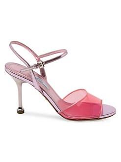 3c18def5083 Product image. QUICK VIEW. Prada. Plex High Heel Sandals