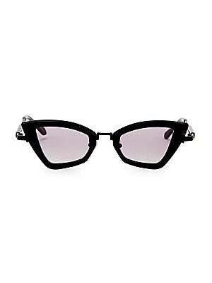 791d6de7b2a7 Karen Walker - Bad Apple 46MM Triangular Cat Eye Sunglasses - saks.com