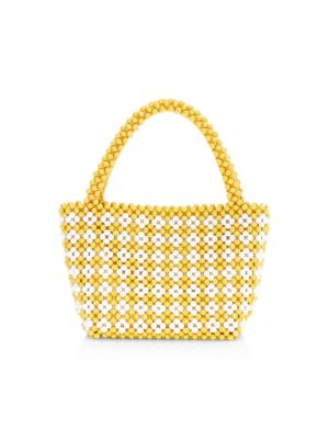 Beaded Tote Bag by Loeffler Randall
