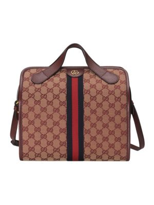 fe599eb6147c Gucci - Soft GG Supreme Carry-On Duffle with Wheels - saks.com