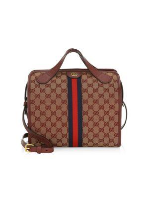 c9cbc6354d45f8 Gucci Mini Ophidia Gg Duffle Tote Bag In Sahara Rubchard   ModeSens
