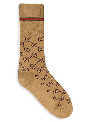 1ea8421fc Gucci - GG Woven Socks - saks.com