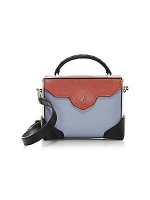 fbe895b3c3 Elena Ghisellini - Selina Mignon Multicolor Leather Crossbody Bag ...
