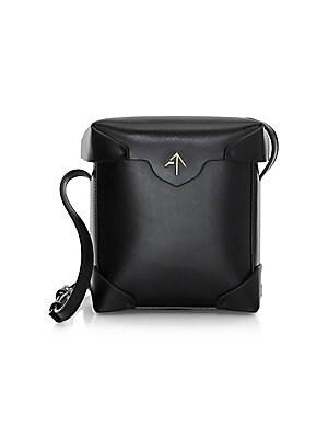 66f2ec3ab051 Loewe - Flamenco Knot Leather Shoulder Bag - saks.com