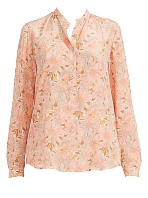 407e662b Stella McCartney - Edith Stretch Cady Asymmetric Fringe Top - saks.com