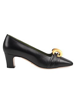 48c7fa05726 Product image. QUICK VIEW. Gucci. Usagi Leather Pump