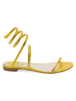 7904720a5ee8 Cleopatra Snake Wrap Flat Sandals YELLOW. QUICK VIEW. Product image