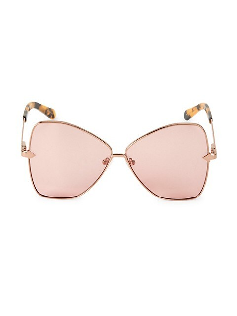 Chess Club Queen 60MM Butterfly Sunglasses