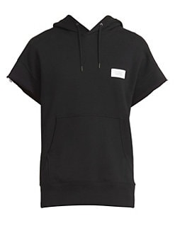 6039238b Givenchy. Distressed Short Sleeve Hoodie
