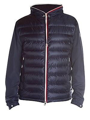 18d7c5f18 Moncler - Alavoine Mixed Media Down Jacket