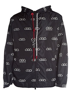 837088455685 Moncler. Mikael Hooded Logo Jacket