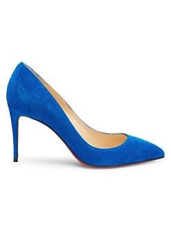 f73e520987 Pigalle Follies 85 Suede Pumps BLUE. QUICK VIEW. Product image