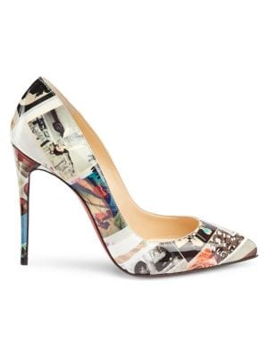 finest selection b9c14 306c6 Christian Louboutin - So Kate 120 Patent Leather Pumps ...