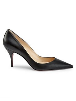 2c7946e7481a QUICK VIEW. Christian Louboutin. Clare 80 Leather Point Toe Pumps