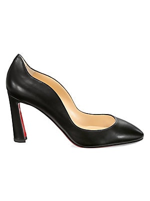 Agneska Leather Pumps by Christian Louboutin
