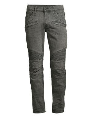 5f99065c Balmain - Distressed Biker Jeans - saks.com