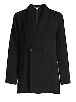 386ecb0667f QUICK VIEW. Eileen Fisher. Double Breasted Jacket