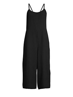 1623400e0d8 QUICK VIEW. Eileen Fisher. Cami Organic Cotton Cropped Jumpsuit