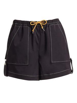 Ganni Shorts Paradise Cinnober Trekking Weave Shorts