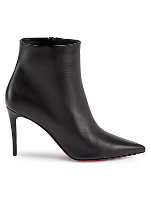So Kate 85 Leather Ankle Boots by Christian Louboutin