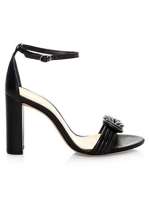 Vicky Knotted Leather Sandals