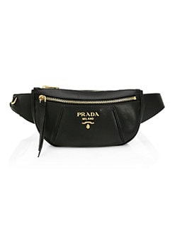 25a1b246fa65 Prada. Small Daino Leather Belt Bag