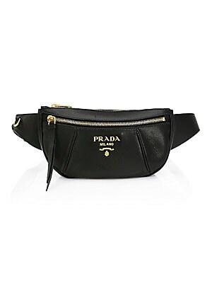 560d4bbf30 Prada - Small Daino Leather Belt Bag - saks.com